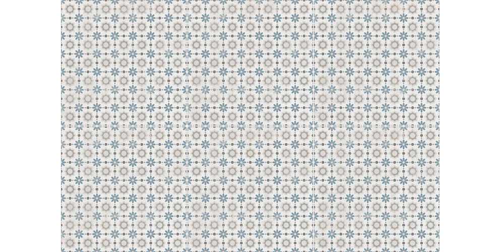 """אריח ריצוף מצויר גרניט פורצלן 22.3/22.3 ס""""מ"""