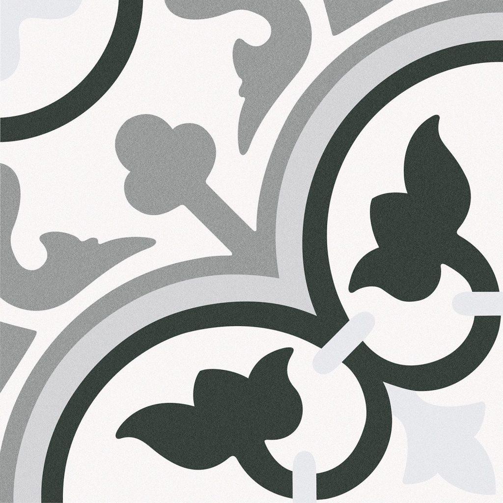 """אריחים מצוירים מגרניט פורצלן   אריח מצויר לריצוף וחיפוי 25/25 ס""""מ"""