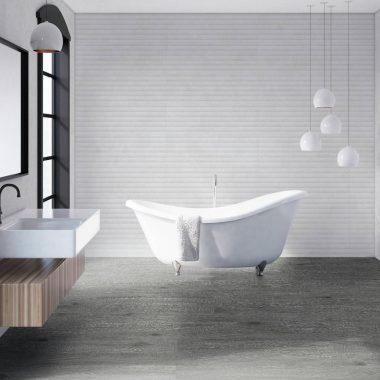 אריח קרמיקה לחיפוי קירות תוצרת ספרד גימור מט גוון אפור 30X90