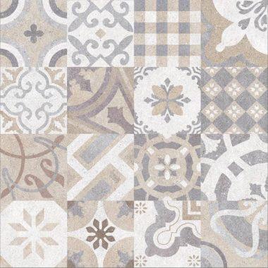 ריצוף אריחים מצוירים מגרניט פורצלן לכל הבית תוצרת ספרד 59.5x59.5